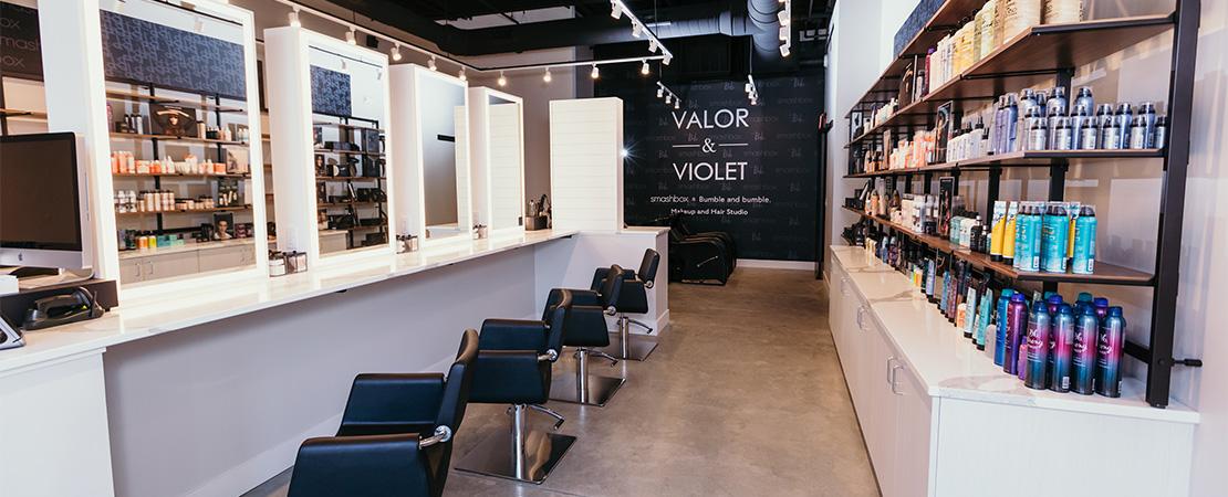 Ankeny salon interior